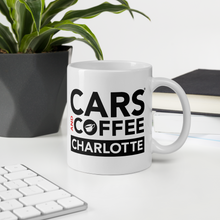Load image into Gallery viewer, Cars and Coffee® Charlotte Mug