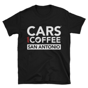 The Badge Tee - Cars and Coffee® San Antonio