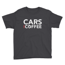 Load image into Gallery viewer, The Classic Cars and Coffee® Kids Tee
