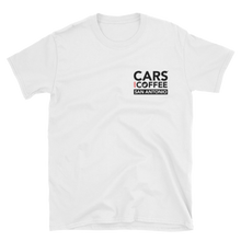 Load image into Gallery viewer, The Badge Tee - Cars and Coffee® San Antonio