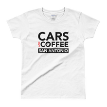Load image into Gallery viewer, The Classic Tee (Women) – Cars and Coffee® San Antonio