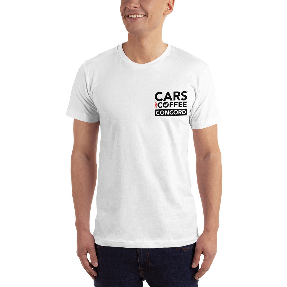 The Badge Tee - Cars and Coffee® Concord