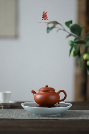 仿古 Fang Gu 120ML 赵庄朱泥 Zhao Zhuang Zhuni 王建芳 Wang Jian Fang - The Phans Yixing Zisha Teapot