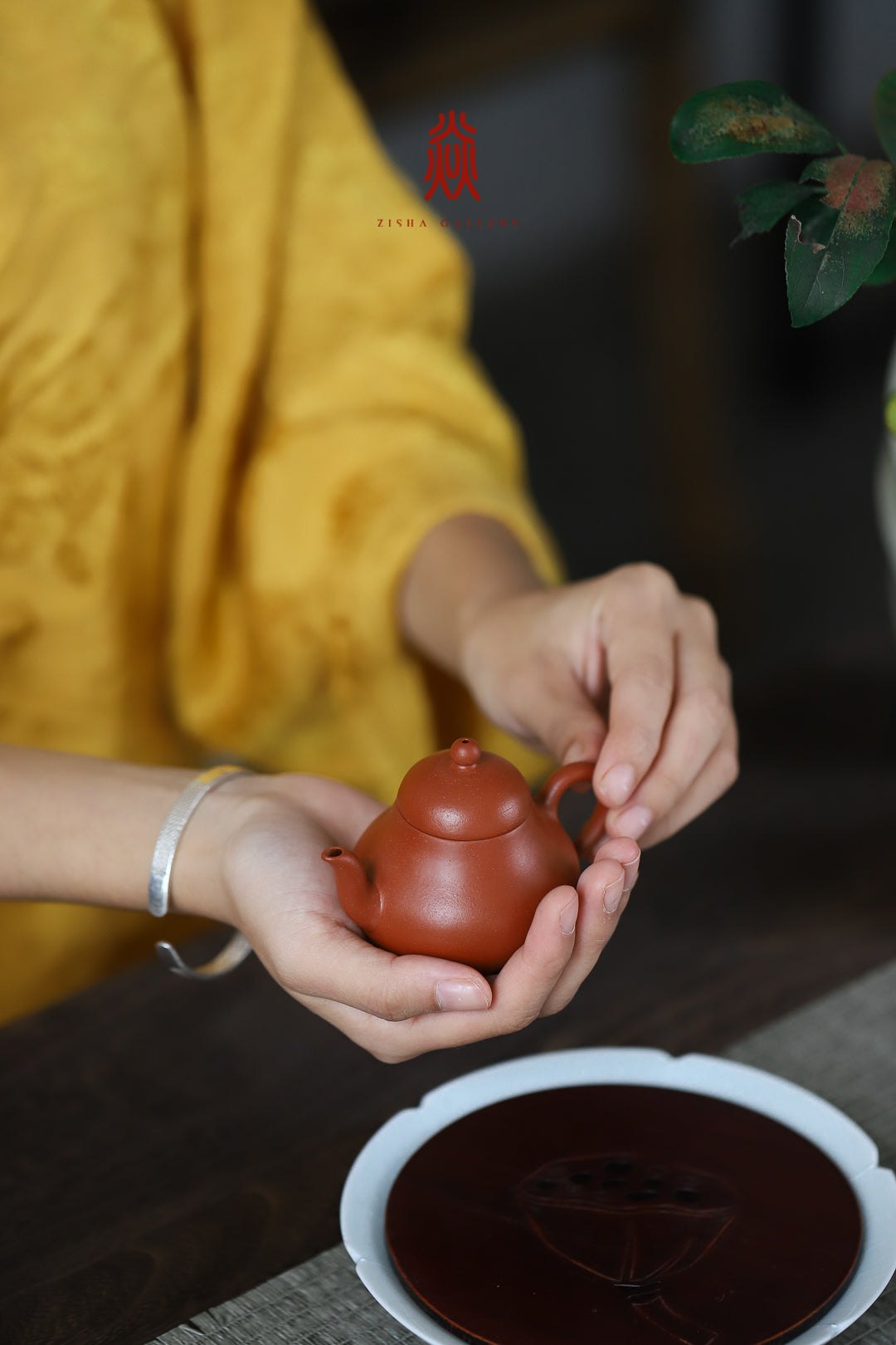 思亭 Si Ting 80ML 赵庄朱泥 Zhao Zhuang Zhuni 王建芳 Wang Jian Fang - The Phans Yixing Zisha Teapot