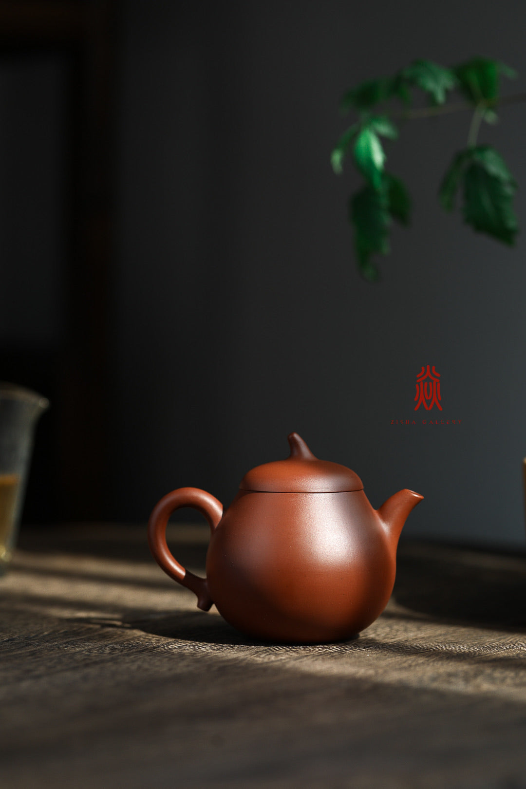 茄段 Qie Duan 150ML Xiao Hong Ni 小红泥 王建芳 Wang Jian Fang - The Phans Yixing Zisha Teapot
