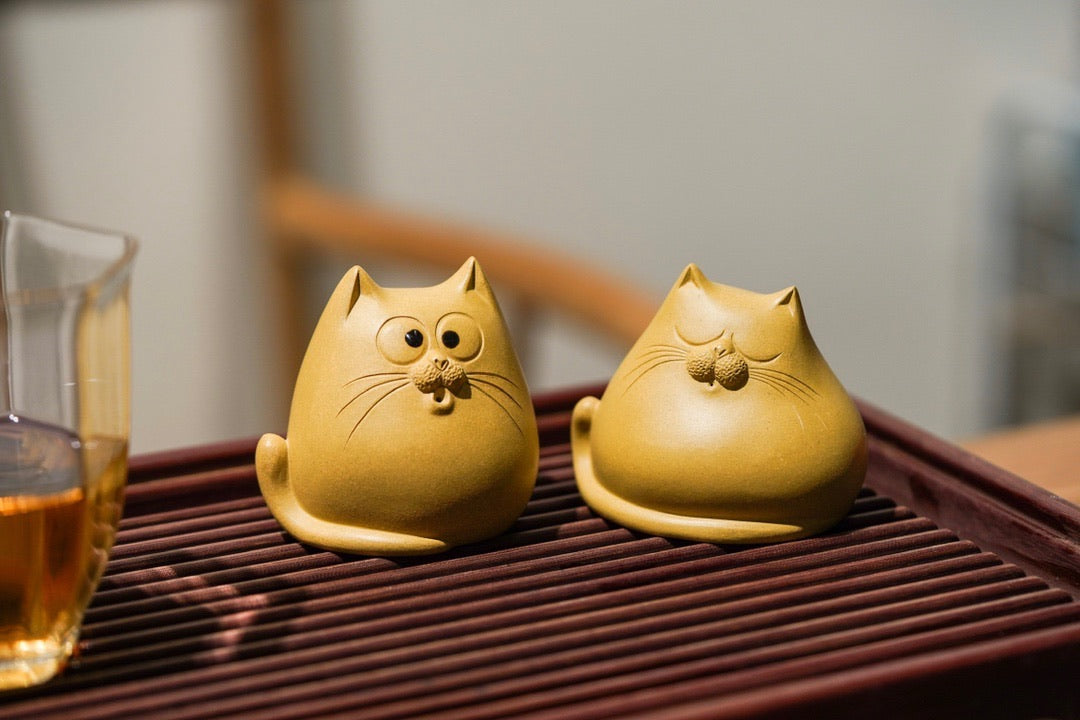 Teapet Chubby Cat - Yann Art Gallery