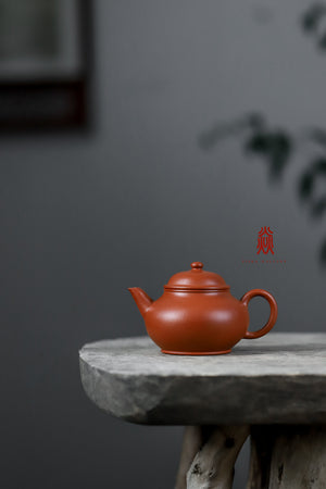 线瓢 Xian Piao 110ML 赵庄朱泥 Zhao Zhuang Zhuni 王建芳 Wang Jian Fang - The Phans Yixing Zisha Teapot