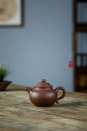 大亨莲子 Da Heng Lian Zi 30年底槽清 金林传砂 Jin Lin Chuan Sha Di Cao Qing Zini 杭海. - The Phans Yixing Zisha Teapot