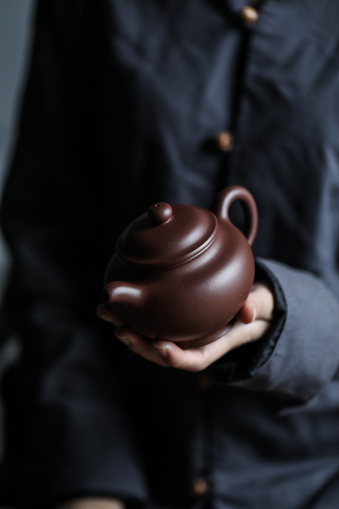 掇只 290ML Di Cao Qing Zini  底槽清 沈美华 Shen Mei Hua - The Phans Yixing Zisha Teapot