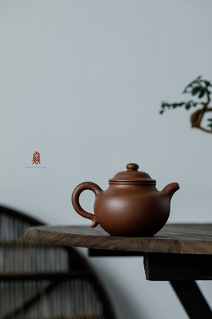 大亨莲子 Da Heng Lian Zi 30年底槽清 金林传砂 Di Cao Qing Zini 杭海. - The Phans Yixing Zisha Teapot
