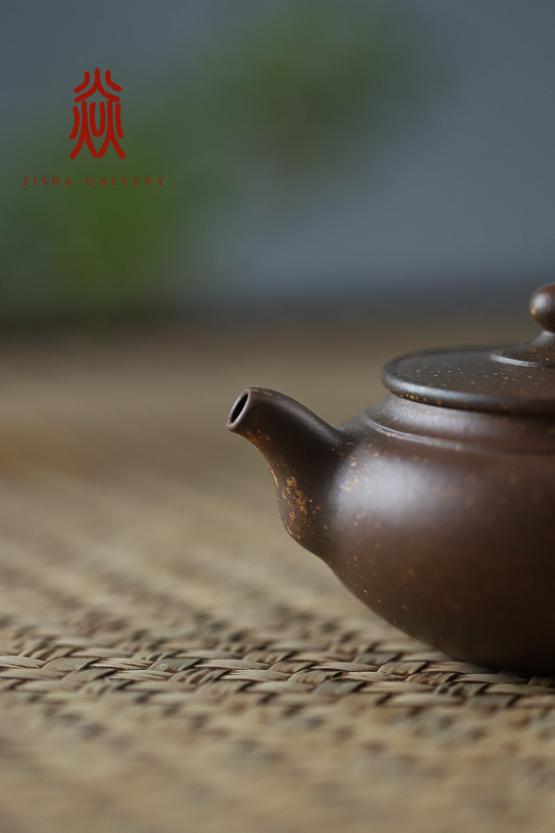 Zi Jin Hu 子衿壶 Woodfire Zini Di Cao Qing 沈叶琴 - The Phans Yixing Zisha Teapot
