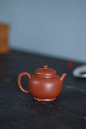 玉柱壶 Yu Zhu 90ML 赵庄朱泥 Zhao Zhuang Zhuni 王建芳 Wang Jian Fang - The Phans Yixing Zisha Teapot