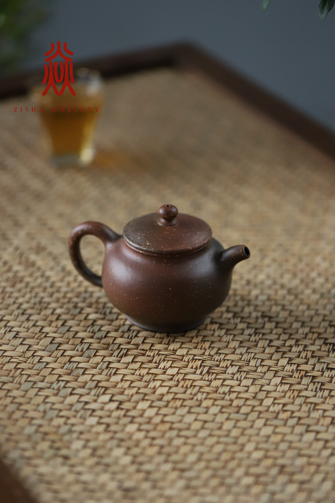 潘壶 Pan Hu 180ml Woodfire Zini Di Cao Qing 沈叶琴 - The Phans Yixing Zisha Teapot