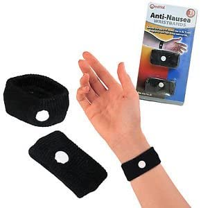 Anti Nausea Morning Sickness Motion Travel Sick Wrist Bands - iPro Accessories