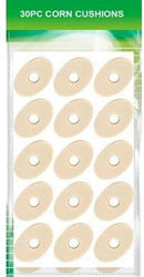 30 OVAL Corn Foam Cushion Adhesive Protective Ring Pads - iPro Accessories