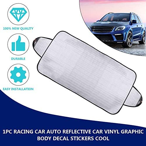 Car Windscreen Windshield Front Glass Sun Shade Cover Snow Frost Dust Protector - iPro Accessories