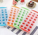 Ice Cube Tray Easy Pop out Maker Plastic Silicone Top Mould 21 Jelly - iPro Accessories