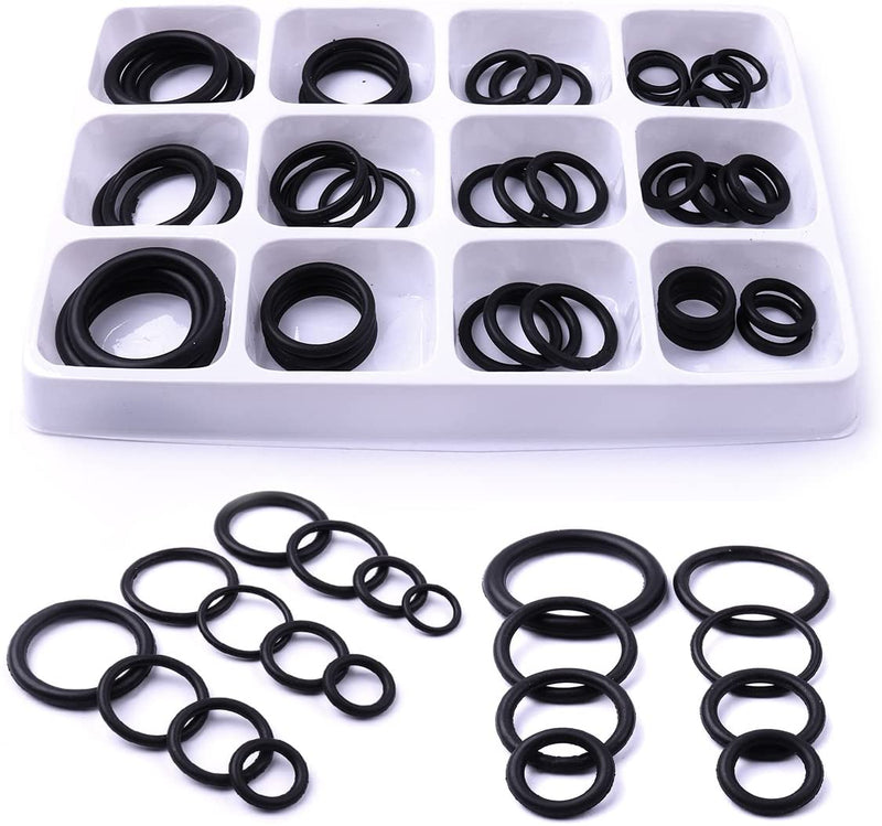 O Ring Set Assorted O-Ring Washer Kit Rubber Seals for Plumbing - iPro Accessories