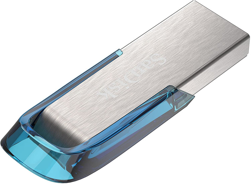 SanDisk Ultra Flair 32 GB USB 3.0 Flash Drive, Upto 150MB/s read - Blue SDCZ73-032G-G46B
