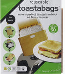 Toaster Toastie Sandwich Toast Bags 2 Reusable Pack - iPro Accessories