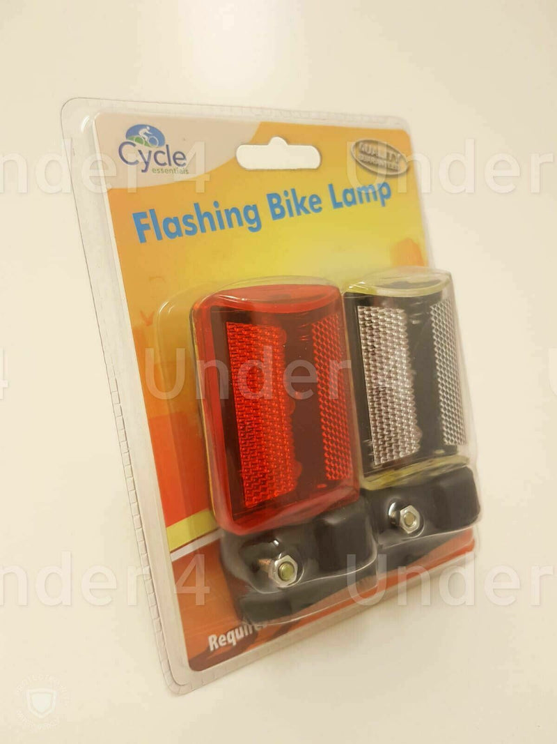 Bicycle LED TAIL Front Rear Light FLASH MODE Mountain Bike - iPro Accessories