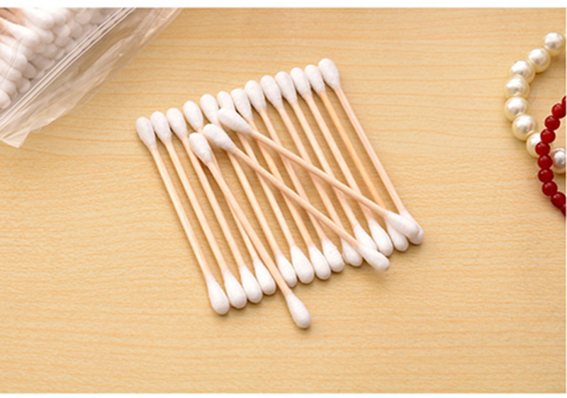100 Bamboo Cotton Buds Swab Soft Applicator Environment Friendly - iPro Accessories