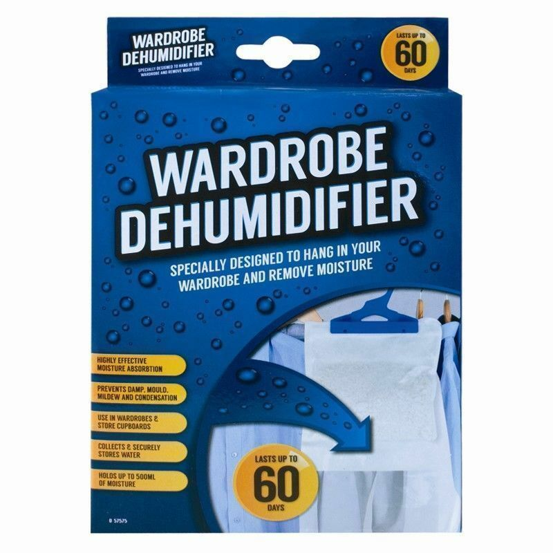 Hanging Interior Wardrobe DEHUMIDIFIER - iPro Accessories