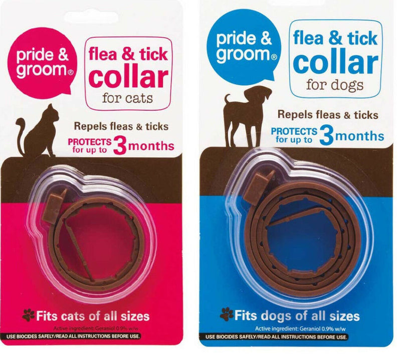 Pet Dog Cat Puppy Kitten Flea Tick Collar Lasts Up To 3 Months Stretch on Spot - iPro Accessories