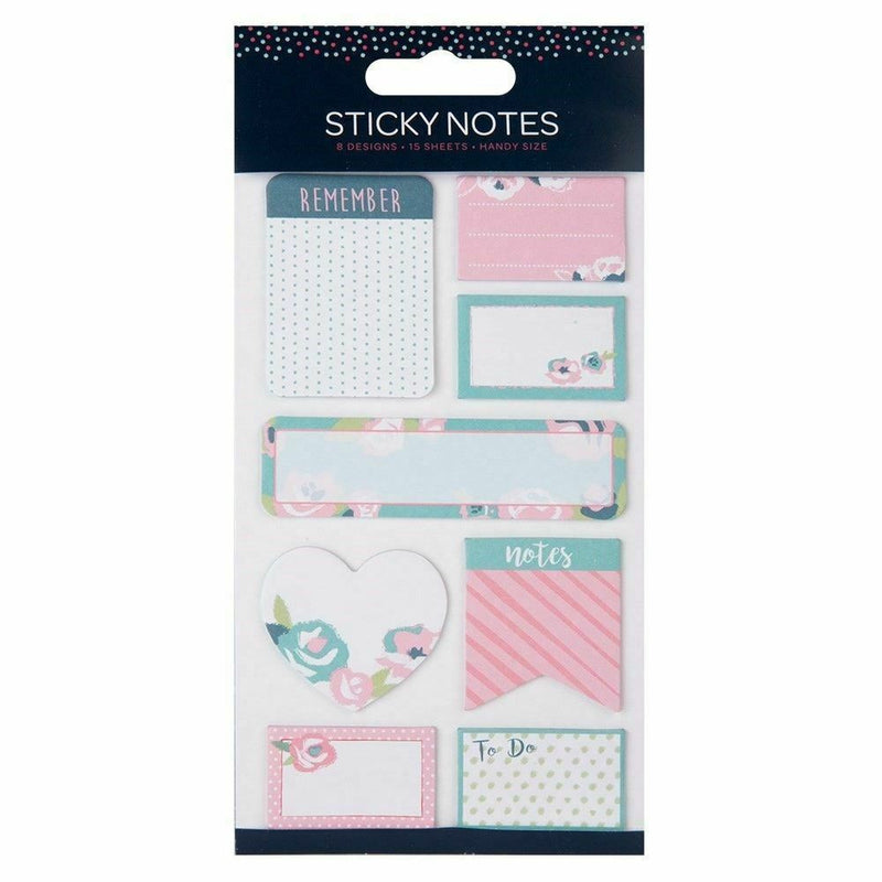 Memo Sticky Note Desktop Organizer Set Post Arrow Tab - iPro Accessories