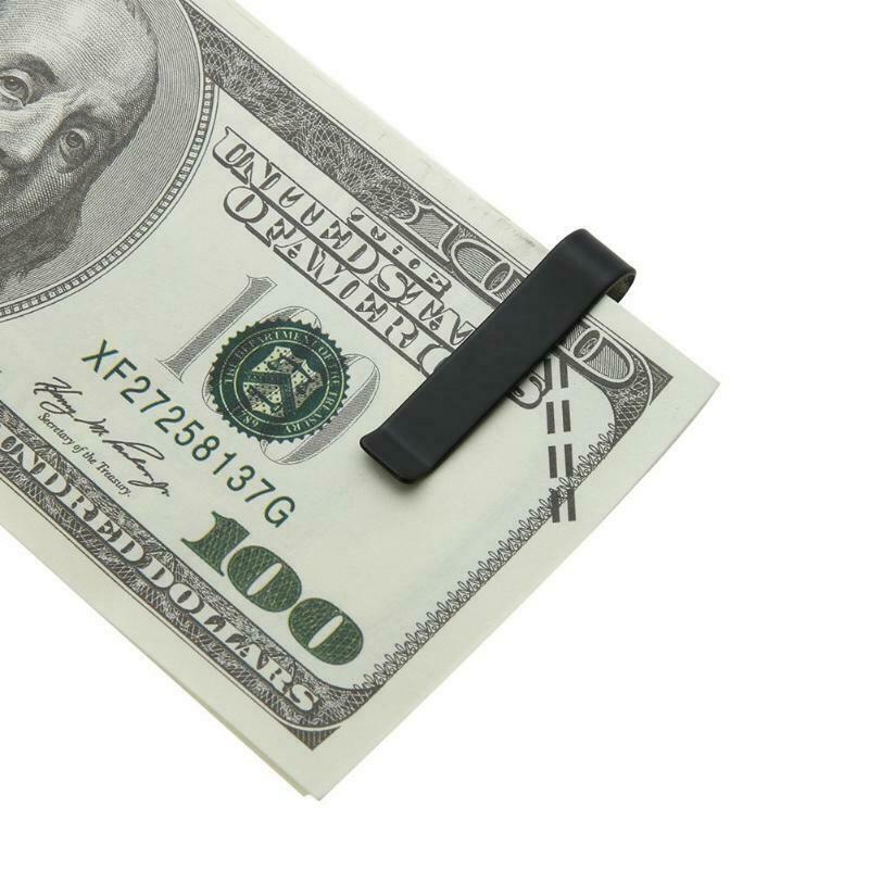 Stainless Steel Slim Money Cash Clip Holder - iPro Accessories