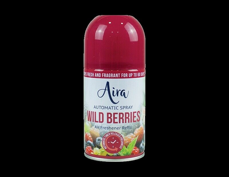 Wild Berries Essence Refill Automatic Spray Fragrance Air Freshener 250ML - iPro Accessories