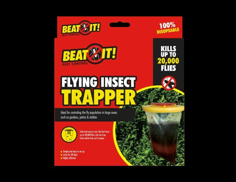 Fly Trap Bag Catcher Kills 20,000 Flies Insects - iPro Accessories