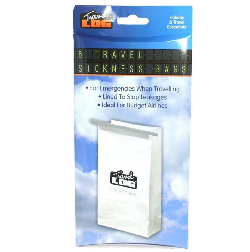 1 x Disposable Travel Sick Vomit Bag Car Sickness - iPro Accessories