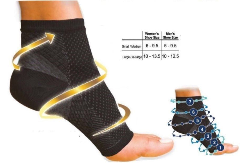 Ankle Socks For Swelling Relief and Support - iPro Accessories