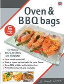 6 Oven & BBQ Toastabags Bags Griddles Hotplates Trays - iPro Accessories