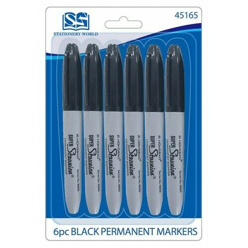 Fine Point Bullet Sharp Tip Permanent Marker Pens - iPro Accessories