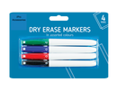 Dry Erase Marker Pens Thin Slim Fine Round Bullet Board Whiteboard Wipe Clean - iPro Accessories