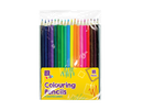 18 x Colouring Pencils Assorted Blending Colours Adult/Children Drawing/Sketching - iPro Accessories
