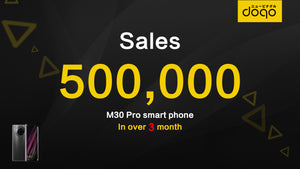 Japan's doqo mobile phone has been sold more than 500,000 units in three months, with full access to the European and Southeast Asian markets