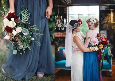 Luxurious Jewel Tone Wedding Inspiration