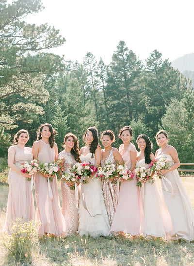 Pretty Blush and Gold Wedding Inspiration