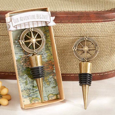 'Our Adventure Begins' Bottle Stopper