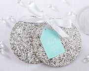 Silver Sparkle Coasters (Set of 2)