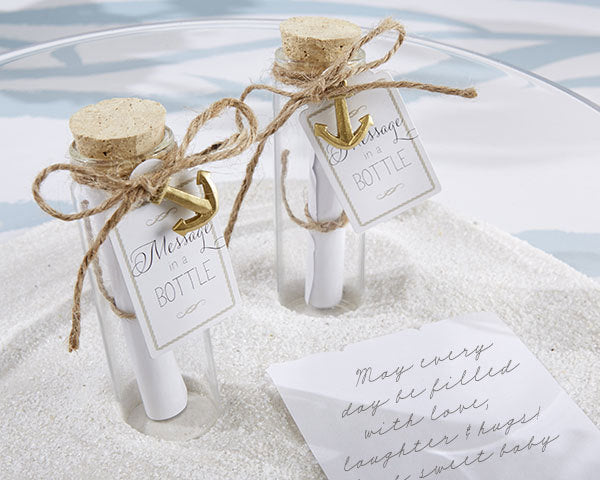 Message in a Bottle Favour