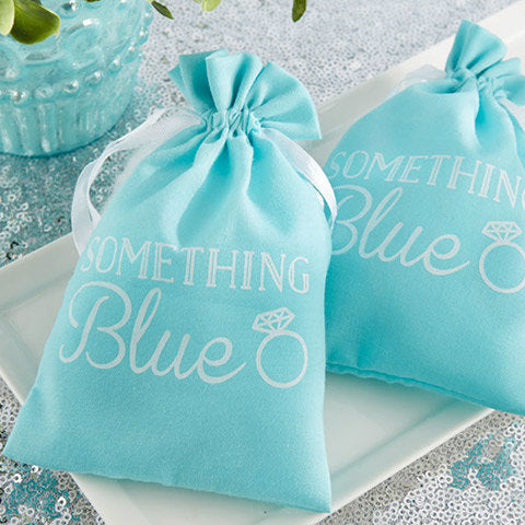 Something Blue' Favour Bag  'Something Blue' Favour Bag