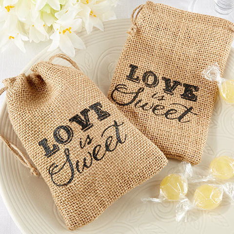 Love is Sweet! Vintage Inspired Favour Bag