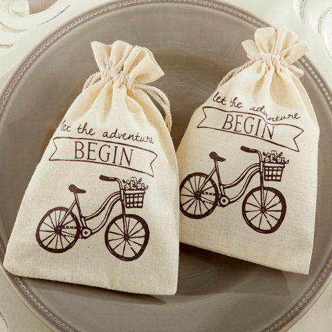 'Let the Adventure Begin' Favour Bag