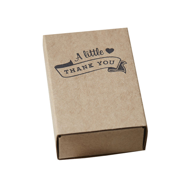 Kraft Matchbox Favour Boxes (Set of 10)