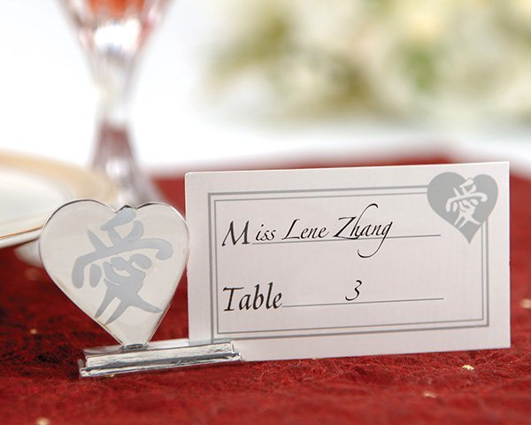 Asian LOVE Place Card Holder