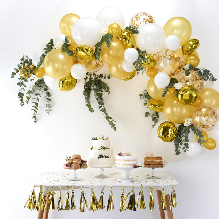 Gold Balloon Arch Kit (Set of 70 Balloons)